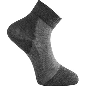 Woolpower Skilled Liner Short Socks, dark grey/grey
